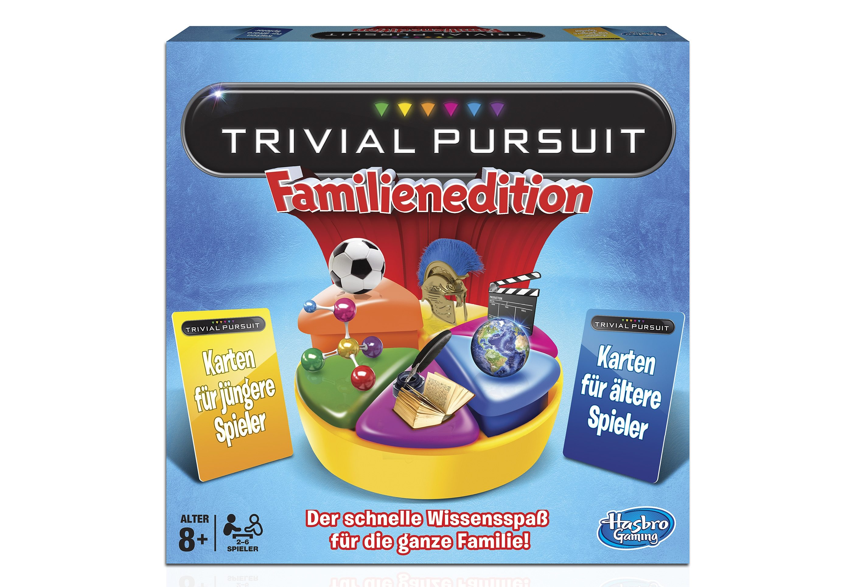 Hasbro Brettspiel, »Trivial Persuit - Familienedition«